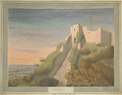 The Keep of Carisbrook Castle, Isle of Wight
